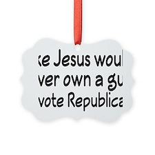 republicanrectangle Ornament