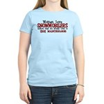 Women Love Snowmobilers Women's Light T-Shirt