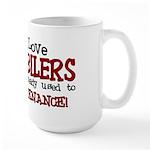 Women Love Snowmobilers Large Mug