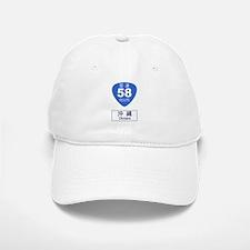 Okinawa Route 58 sign Baseball Baseball Cap
