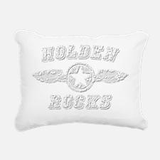 HOLDEN ROCKS Rectangular Canvas Pillow