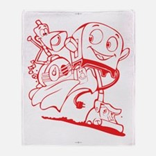 The Brave Little Toaster Throw Blanket