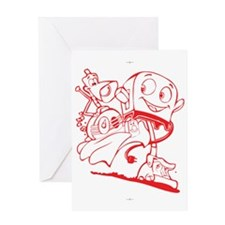 The Brave Little Toaster Greeting Card