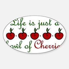 Bowl Of Cherries Decal
