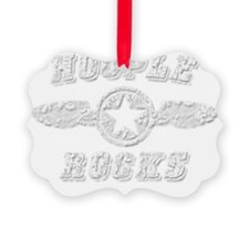 HOOPLE ROCKS Ornament