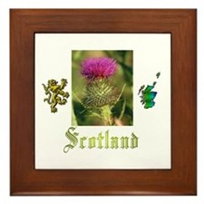 Scotland.:-) Framed Tile