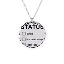 inarelationshipwithtatertots Necklace Circle Charm