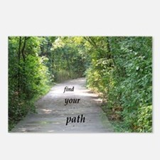 find your path Postcards (Package of 8)