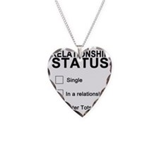 inarelationshipwithtatertots Necklace Heart Charm