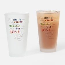 Swedish Proverb Drinking Glass