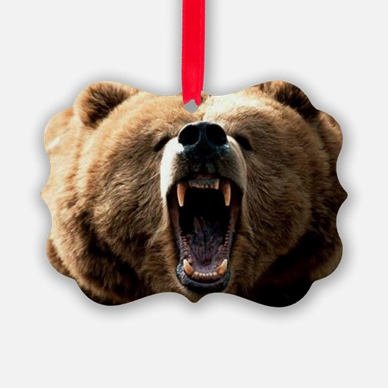 Grizzzly Ornament