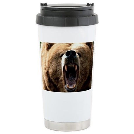 Grizzzly Stainless Steel Travel Mug