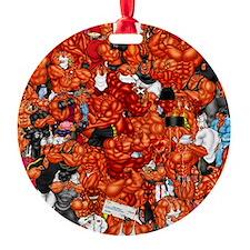 MUSCLEHEDZ CHARACTERS Ornament