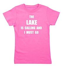 Lake Calling Girl's Tee
