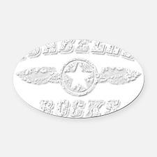 ISABELLE ROCKS Oval Car Magnet