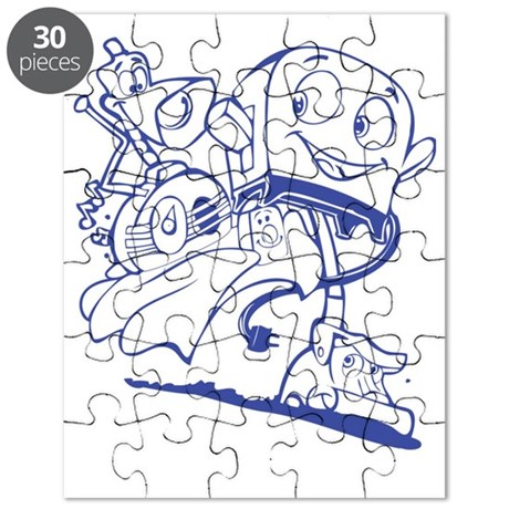The Brave Little Toaster (Blue) Puzzle