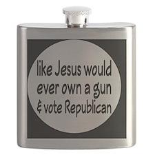 republicanjesusbutton Flask
