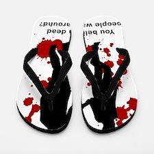 Walking Dead - Daryl Dixon Quotes - Dea Flip Flops