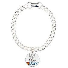 The Doing Philosophy Charm Bracelet, One Charm
