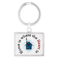 The Heart Is Landscape Keychain