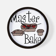Master Baker Wall Clock