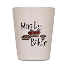 Master Baker Shot Glass
