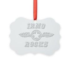 IRMO ROCKS Ornament