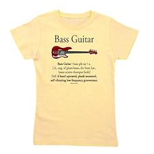 Bass Guitar LFG Girl's Tee