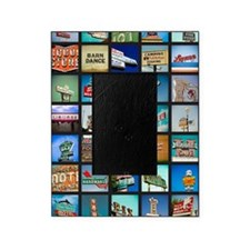 Mid-Century Vintage Signs Poster Picture Frame
