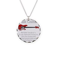 Bass Guitar LFG Necklace