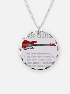 Bass Guitar LFG Necklace
