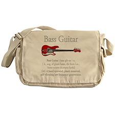 Bass Guitar LFG Messenger Bag