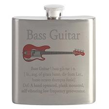 Bass Guitar LFG Flask