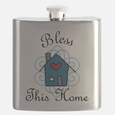 Bless This Home Flask