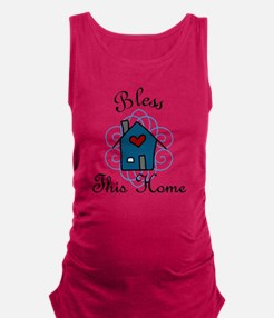 Bless This Home Maternity Tank Top