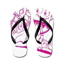The Brave Little Toaster (Pink) Flip Flops