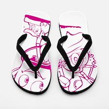 The Brave Little Toaster (Pink) Flip Flops