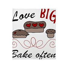 Love Big Throw Blanket