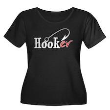 Hooker (Fishing Hook) Women's PLUS Size Scoop Nec