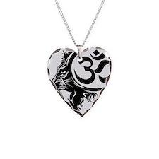 Singh Aum 1 Necklace Heart Charm