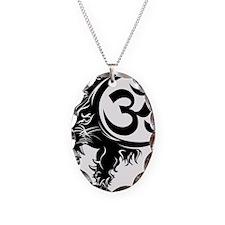 Singh Aum 1 Necklace Oval Charm