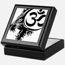 Singh Aum 1 Keepsake Box