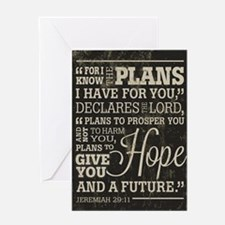 Hope and a Future Greeting Card