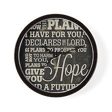Hope and a Future Wall Clock