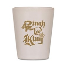 Singh Is King Shot Glass