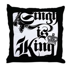 Singh Is King Throw Pillow