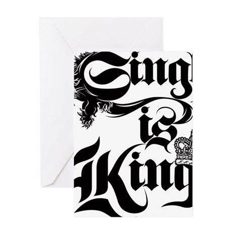 Singh Is King Greeting Card