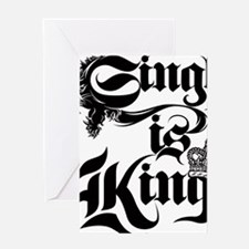 Singh Is King Greeting Card