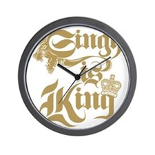 Singh Is King Wall Clock