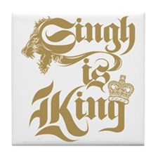 Singh Is King Tile Coaster